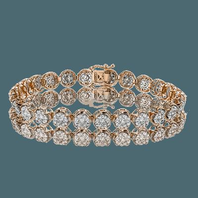 Simon G.   18k white  bracelet