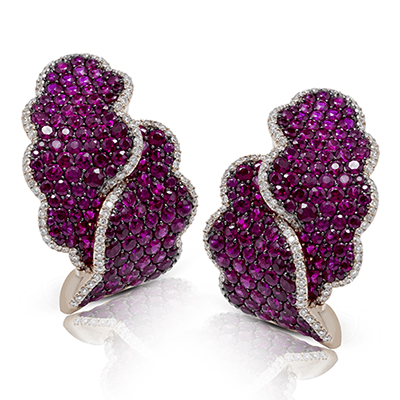LE2208 COLOR EARRING