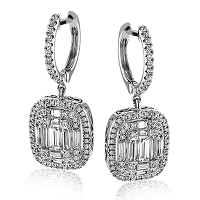 Simon G.   18k white  earring