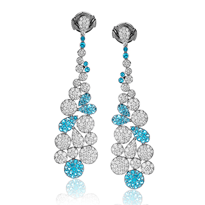 LE4433 COLOR EARRING