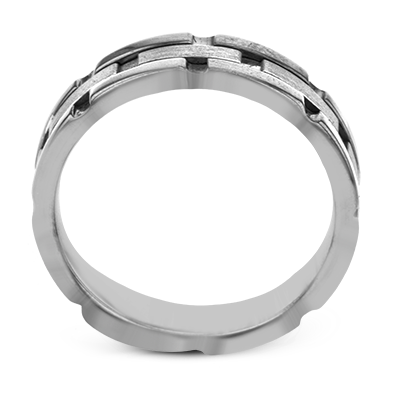 Simon G.   14k white  men ring