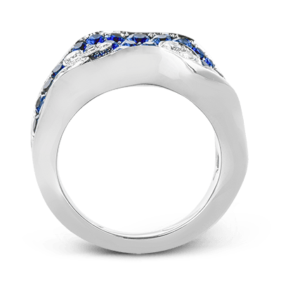Simon G.   18k white  color ring