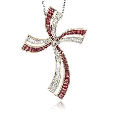 LP4453 CROSS PENDANT