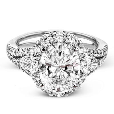 LR1096-A ENGAGEMENT RING