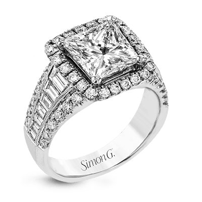 LR1164-PC ENGAGEMENT RING
