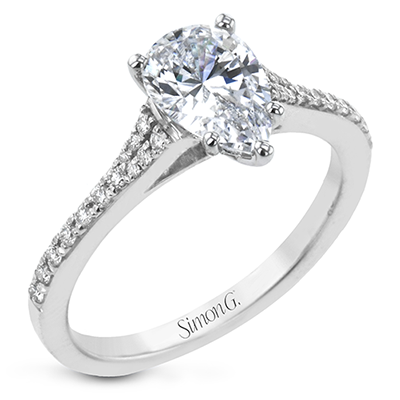 LR2507-PR ENGAGEMENT RING