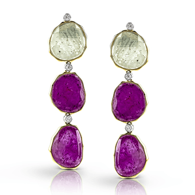 ME1737 COLOR EARRING