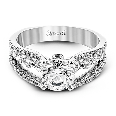 MR2248 ENGAGEMENT RING 18K RING .91D