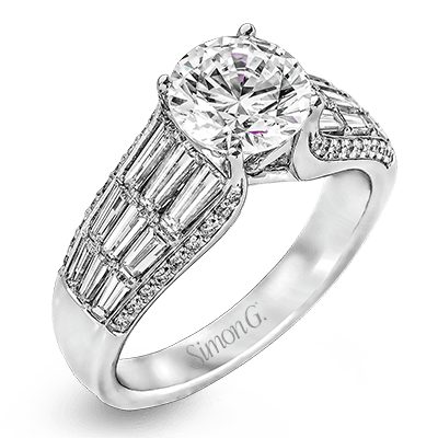 MR2282 Semi 18K RING .10D 1.18BG