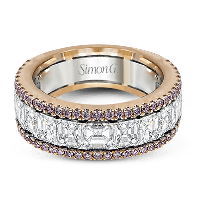 Simon G.   18k white-rose  anniversary