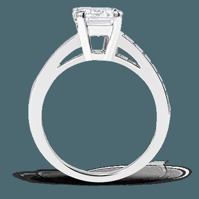 MR2393 Semi 18K RING 1.11BG