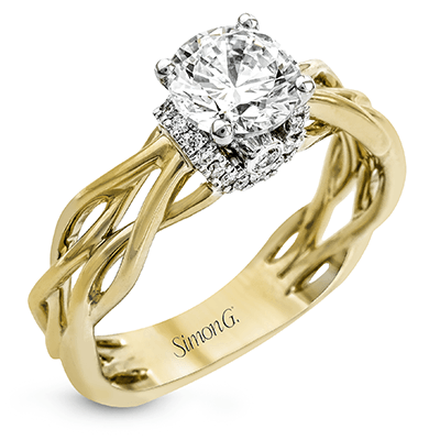 MR2511 Semi 18K RING .13D