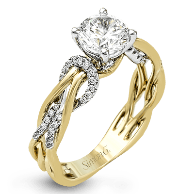 MR2514 Semi 18K RING .17D