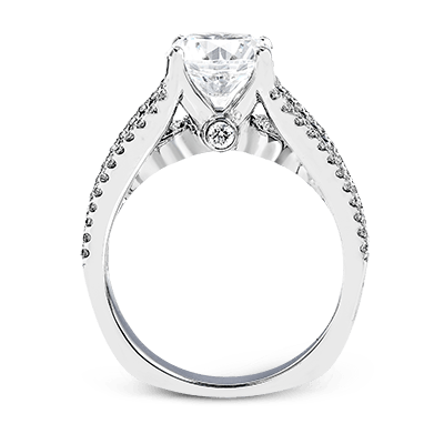 MR2690 Semi 18K RING .64D .48SIDES