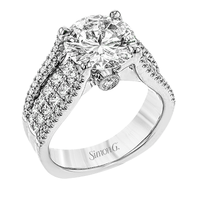 MR2691 Semi 18K RING .40D 1.04PC