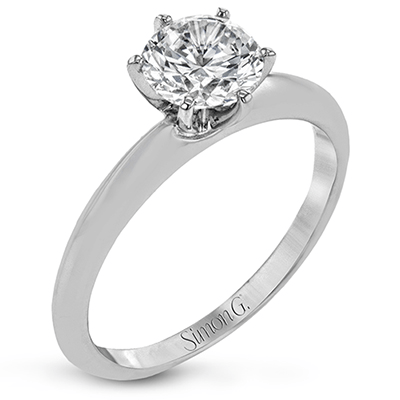MR2948 ENGAGEMENT RING 18K SEMI