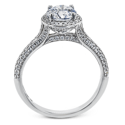 MR3097 ENGAGEMENT RING 18K RING .39D