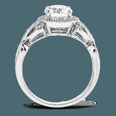TR519 ENGAGEMENT RING 18K RING .17D