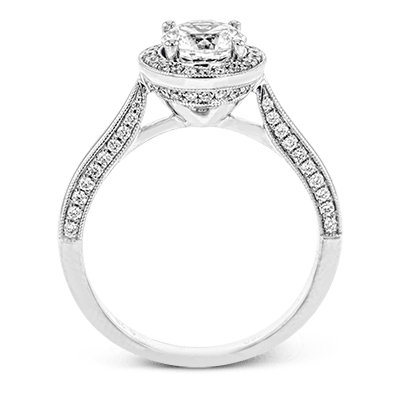 TR702 ENGAGEMENT RING 18K RING .28D
