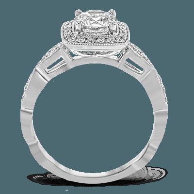 TR704 Semi 18K RING .28D